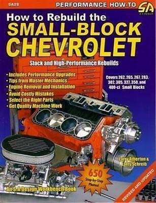 Chevrolet Small Block Engine Stock High Performance Rebuilds Overhaul Modify
