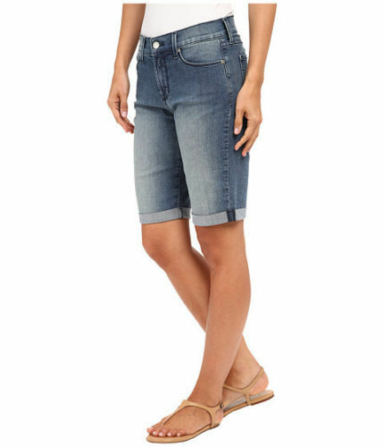 2cdf072a6a NYDJ Not Your Daughters Jeans Briella bermuda shorts denim Karval size 6  quwpyn6003-Shorts