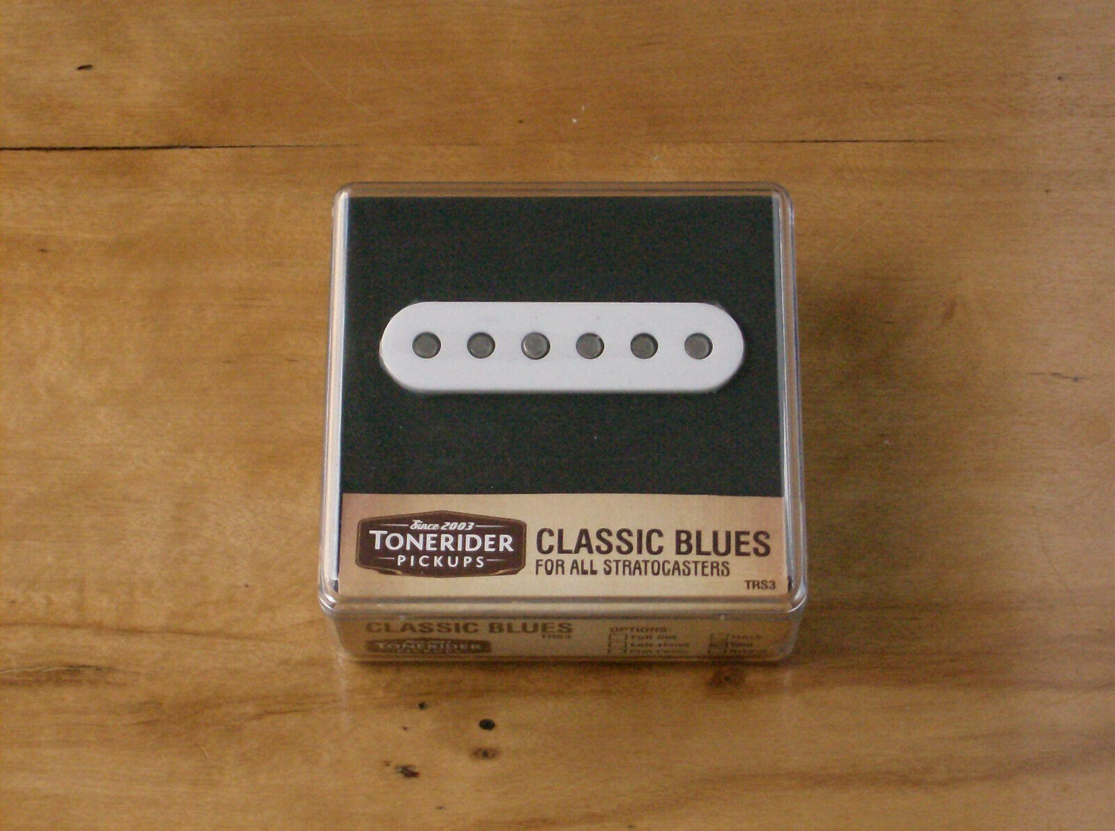 7k HOT output Strat ® Classic blus bridge pu Alnico V TRS 3 Tonerider handbuilt