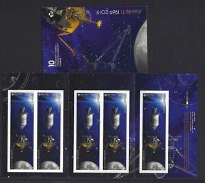Kanada-2019-Apollo-11-Broschuere-Selbstklebend-Nicht-Gefasst-Postfrisch-MNH