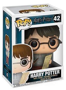 Funko-POP-Vinyl-Harry-Potter-Harry-W-Mauders-Map-Figurine-No-42