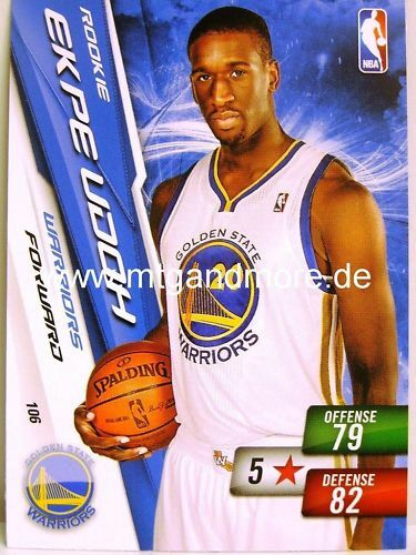 warriors NBA adrenalyn xl 2011-Ekpe udoh #106