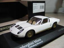 Lamborghini Miura 1966 Minichamps 1 43 White 433103003 Mini Car Fan