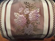 11 Yard Roll of Vintage 4-inch wide French Floral Rose Pattern Ribbon