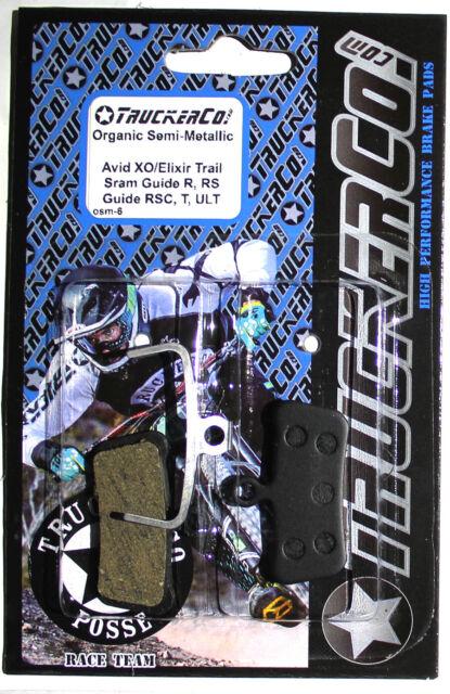 TruckerCo Disc Brake Pads AVID X0 Trail sram Guide r rs rsc ultimate T osm6