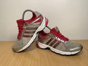 Adidas-Duramo-5-Femmes-Rose-Gris-Running-Baskets-Taille-UK-5-EUR-38