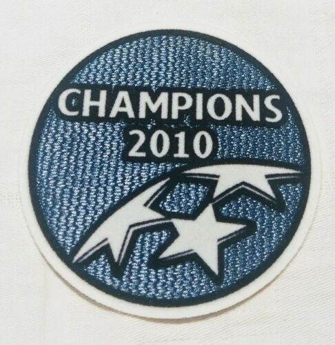 Patch Inter CHAMPIONS league 2010 UEFA badge winner triplete mourinho zanetti