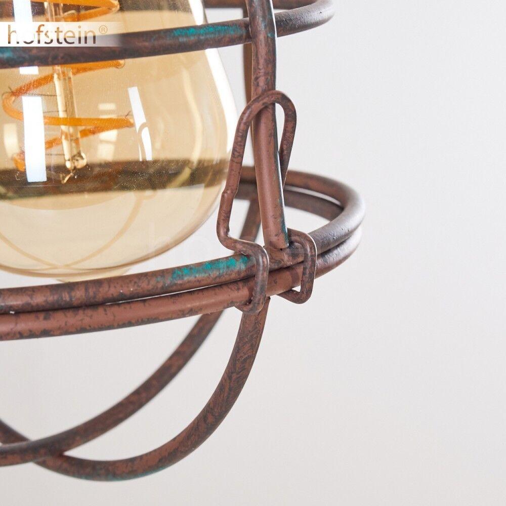Lampe à suspension Plafonnier Retro Plafonnier suspension Lampe pendante Lustre Lampe de séjour Métal 2e3b86