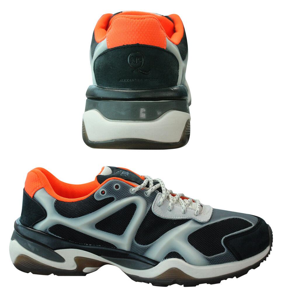 Puma AMQ MCQ Alexander McQueen Runner Run Lo Black Mens Black Lo Trainers 358546 02 U27 5deef4