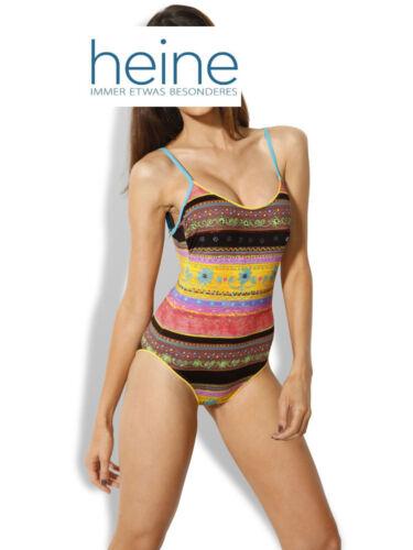 36 C COLORATA COPPA-Costume da Bagno Nuovo!! Heine Kp 89,90 € Mis