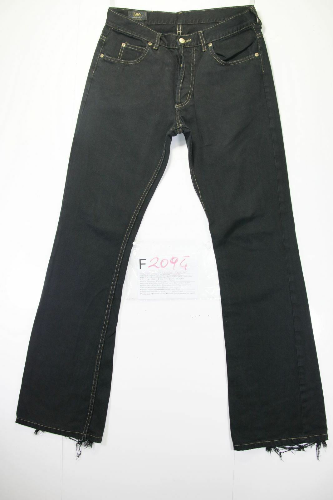 Lee Denver Bootcut ( Cod. F2094) Tg46 W32 L34 Jeans Used High Waist Flare