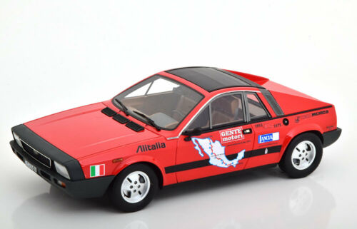 1:18 Laudoracing Lancia Beta Montecarlo 1.Series Carrera Messicana red