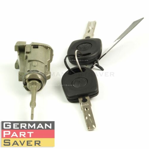 New OE Left Driver Door Lock Cylinder w// Key fits VW Passat 98-05 3B0837167G