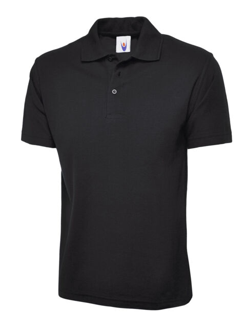 585b9335 5 X Uneek Childrens Polo Shirt Kids School Top PE Unisex Boys Girls (uc103)  7 - 8 Years Black. About this product. Picture 1 of 2; Picture 2 of 2.  Picture 2 ...