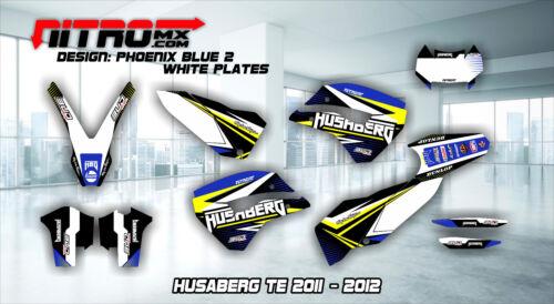 Husaberg GRAPHICS KIT DECALS Design Stickers Te 125 250 300 2011-2012 11-12 MX