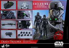 HOT TOYS Rogue One: A Star Wars Story Death Trooper Deluxe Version 1/6 Figure