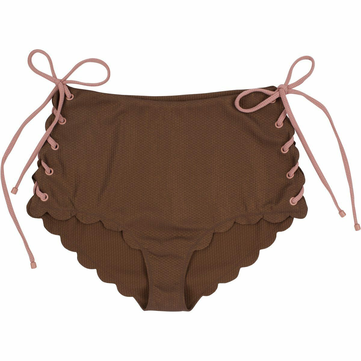 Marysia Palm Springs brown Metallic Hohe size Bikiniunterteil XS Bademode