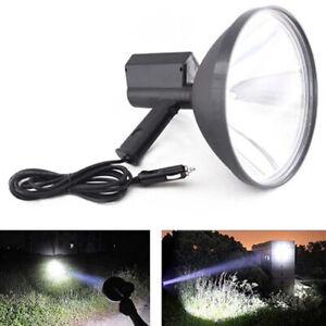 8000-LM-12V-100W-HID-9in-240mm-Handheld-Lamp-Camping-Hunting-Fishing-SpotligWFI