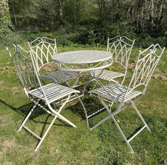 Dining Set Wrought Iron Patio Furniture