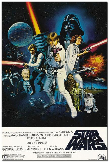 """Star Wars Classic Movie Silk Wall Poster 24x36"""" 007"""
