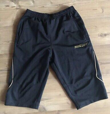 *saller*tech 72 Fit Sporthose/fußballhose/shorts/kurze Hose Schwarz Gr.m *top*