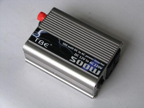 INVERTER 300W 500W 1000W 1500W 2000W 3000W12V 220V AUTO CAMPER BARCA PC