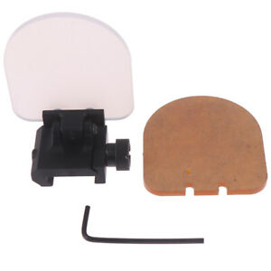 Transparenter-kugelsicherer-Objektivschutz-Roter-gruener-Punkt-Visier-Objektiv-bc
