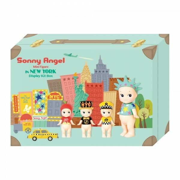 SONNY ANGEL coffret 4 figurines bébé série limitée New York
