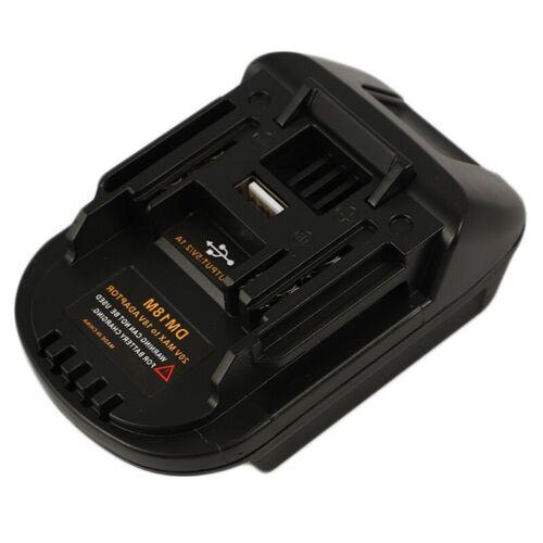 Conversion de Batterie de 20V à 18V Adaptateur Outil de Chargeur Li-Ion Dm18M p