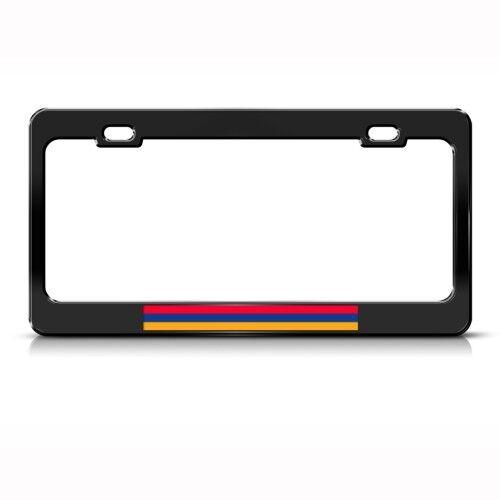 ARMENIA ARMENIAN FLAG Metal License Plate Frame Tag Holder