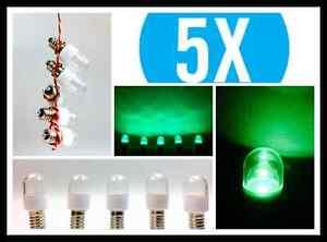 5x-x-LED-0-6W-E14-Klar-Gruen-Farbig-Lampe-Kuehlschrank-Signal-Guenstig-Angebot-Set
