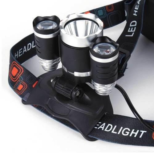 show original title Details about  /12000lm t6 3 x CREE XM-L Headlight Head torch led rechargeable