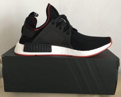 2 sur 8 Adidas Nmd Xr1 Core Black-Core Black-Solar Red By9924 Men Trainers  Size U.k 7b2cefef9