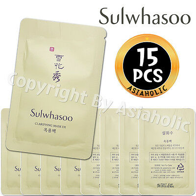 Sulwhasoo Clarifying Mask EX 5ml x 15pcs (75ml) Sample AMORE PACIFIC