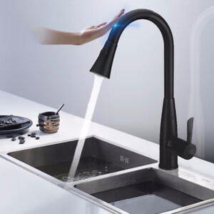 Image Is Loading Intelligent Touch Kitchen Faucet Pull Out Sprayer Sensitive