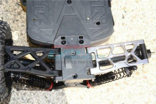 GPM Racing Aluminum Rear Lower Arms Orange Big Rock 4x4 Granite