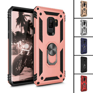 For-Samsung-Galaxy-S9-Plus-Metal-360-Rotating-Ring-Kickstand-Holder-Case-Cover