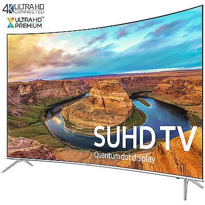 Samsung UN55KS8500 Curved 55-Inch Smart 4K SUHD HDR 1000 LED TV