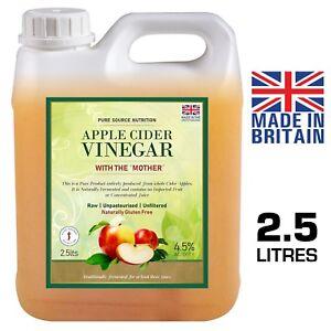 RAW Apple Cider Vinegar with Mother 946ml Applecider ...