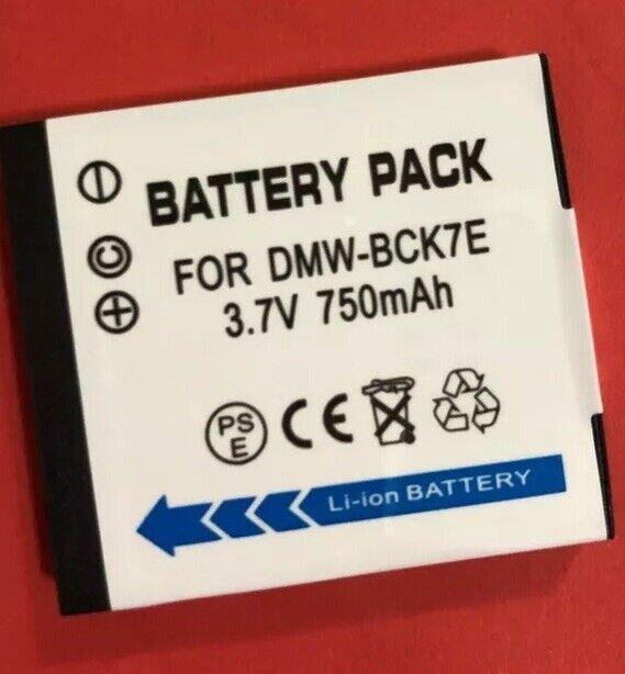 Battery for PANASONIC Lumix DMC-FT30 FX77 FX90 TS20 FS41 FH25 FH27 FH8 FP5 FP7