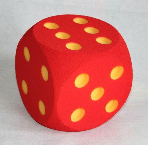 Professor Ele Foam Cube Red 16 cm