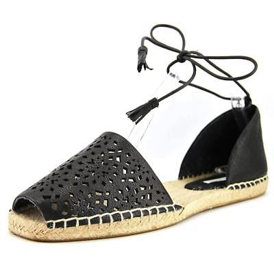 Cynthia Vincent Farie   Round Toe Leather  Espadrille