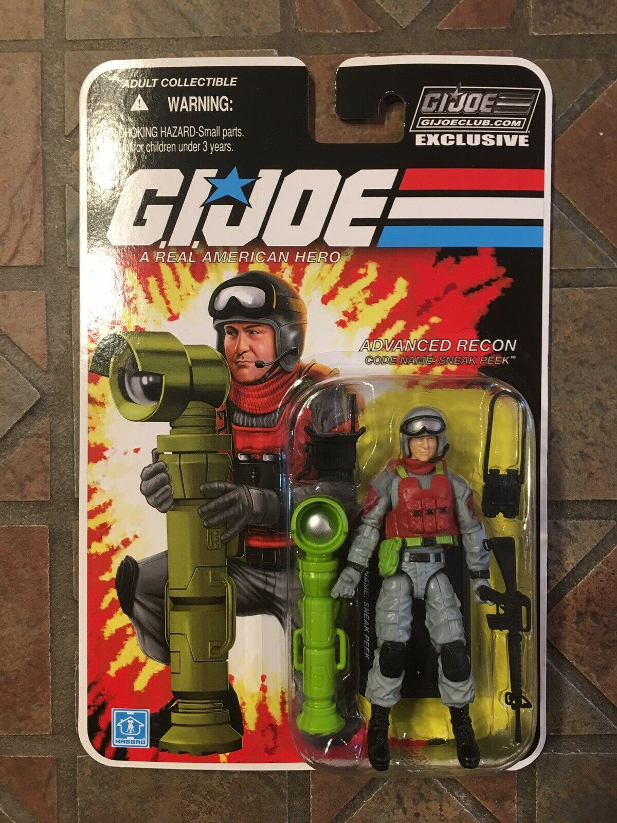 Gi Joe Sneak Gucken Fss 5.0 Con Collectors Club Exclusive Figur 2017 Cobra