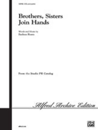 ALFRED Sisters Join Hands SATB Mixed voices Brothers SV9916