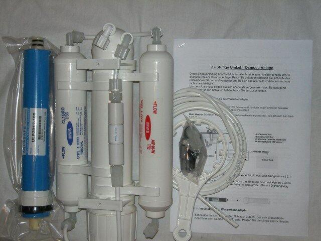 Osmosi Filtro per Osmosi 190l  Prodotto Tag 50 Galloni