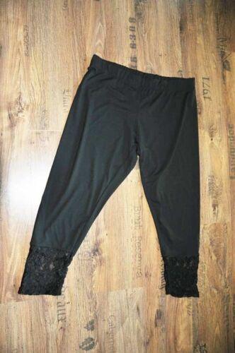 Gr Jersey Lace 48 3d Lagenlook nero 46 Black Myo 50 2 Classy Leggings e wqgt60z