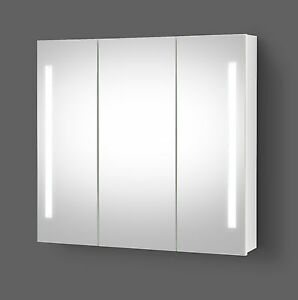 LED Spiegelschrank Bad Badspiegel Spiegelschrank mit LED beleuchtung ...