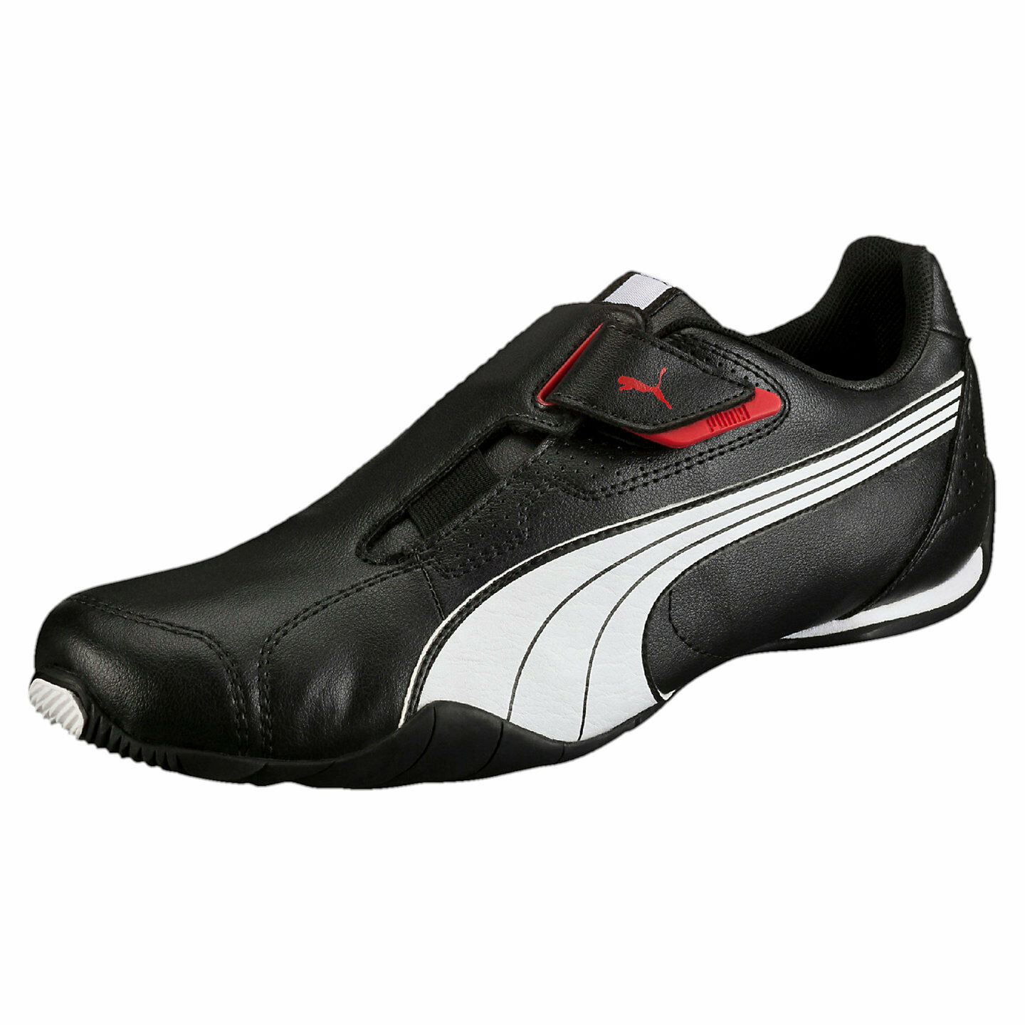 Men's PUMA REDON MOVE Casual Shoes, 185999 02 Sizes 9-13 black-white-high risk r