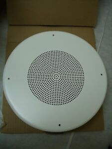 "Sound Acoustics - 8"" Ceiling Intercom Speaker W/ Round Baffle SA-C855R *NOS*"