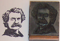 Mark Twain Rubber Stamp By Amazing Arts
